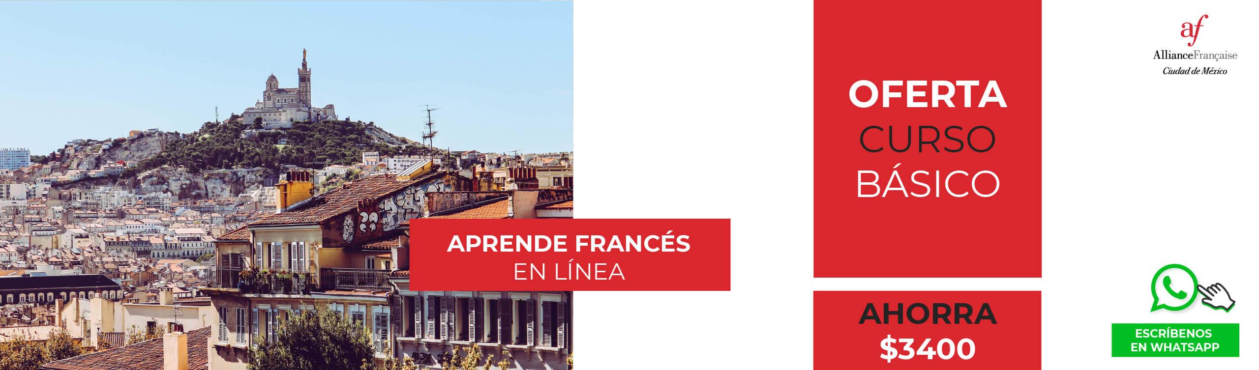 Promoción 2021 clases de francés